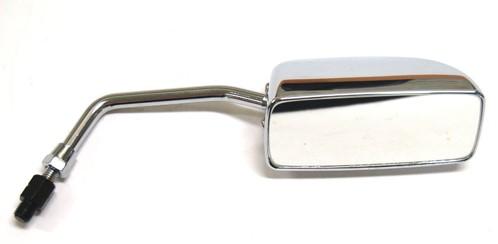 spiegel links rechthoekig scooter m8 draad chroom