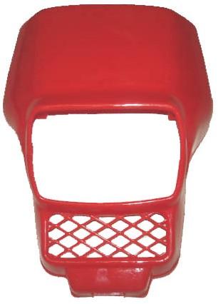 koplampspoiler honda mb 5 / honda mt 5 vierkant rood