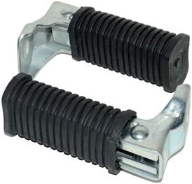 duo voetsteun passagier puch maxi / puch z-one / tomos a3 / tomos a35 - set opklapbaar
