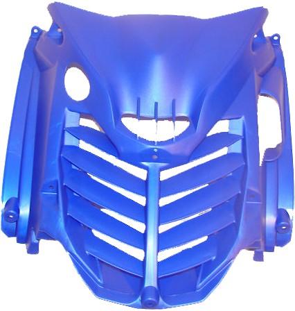 Voorscherm grill Yamaha Aerox T/M 2012 blauw origineel Yamaha Aerox Race replica Camel uitvoering