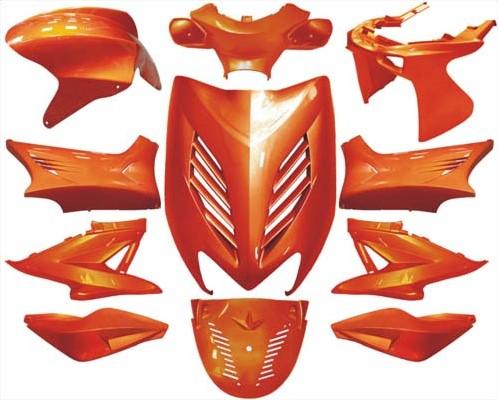 Kappenset Amber Oranje (11 Delig) Yamaha Aerox T/m 2012 DMP