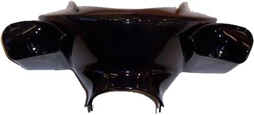 stuurkap yamaha aerox zwart metallic origineel 5brf6143014b