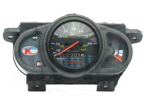kilometerteller kymco agility 50 12inch / kymco agility 50 10inch - voor 45km/h uitvoering 37200-LBD8-E80