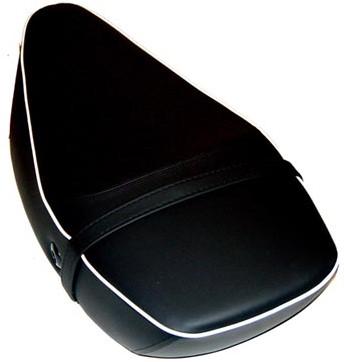 buddyseat 2-pers. vespa S zwart origineel 65428500an