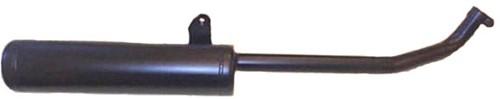 Uitlaat Tecno (22mm) Vespa Citta (Standaard Model Snel)