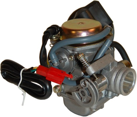 Carburateur (24mm) China Gy6 4t / Sym 4t / Kymco 4t / Piaggio 4t / Baotian 4T / Btc 4t / Agm 4t / Znen 4t Originele Kwaliteit