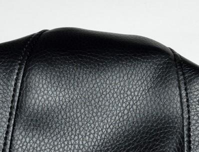 zadeldek piaggio zip 2000 - zwart origineel-model