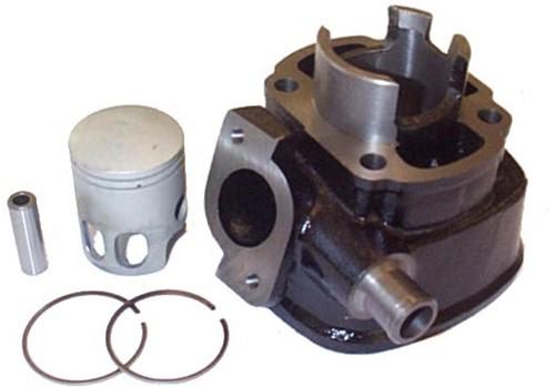 Cilinder 50cc Yamaha Aerox T/m 2012 / Rally Lc / Aprillia Sr 2000 / Sr Lc / Yamaha JogRR / Beta Ycon Lc / Beta Ark Lc / Malaguti F12 Lc / F12R Lc / F15 Lc / Minarelli Horizontaal Lc Originele Kwalitei