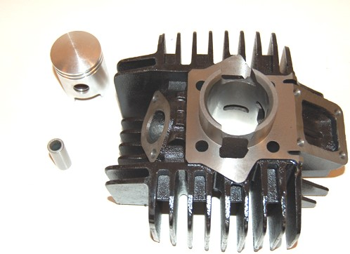 Cilinder 50cc Tomos A35 / Flexer XL / Flexer EX / A35 / A35 Standard XL / A35 Sport R / Pack R / Tomos Youngster / Revival / Funtastic Gietijzer Originele Kwaliteit