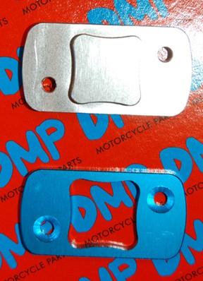 rempotdeksel peugeot speedfight 1-2 CNC gefreesd blauw / aluminium 2-delig op=op