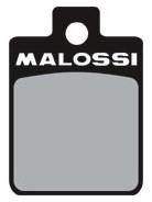 Remblok Set Voorkant (Malossi) Gilera Runner / Piaggio Zip 2000 / Piaggio Liberty / Piaggio Mp3 400 / Vespa Lxv Malossi 6215006BB