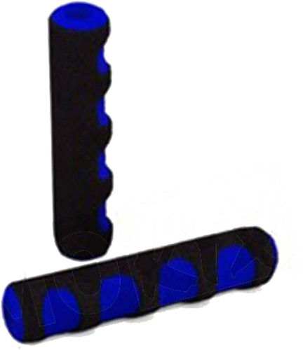 remgreepfoam blauw diversen scooters / brommers (curved)