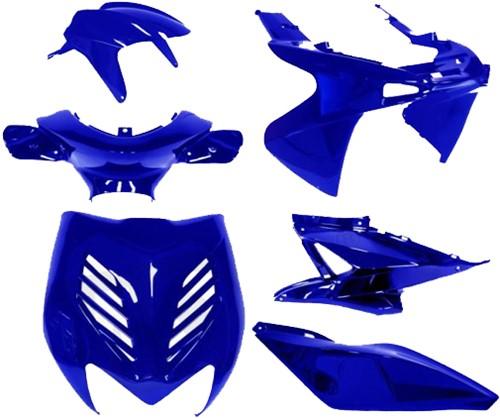 Kappenset Donker Blauw (7 Delig) Yamaha Aerox T/m 2012
