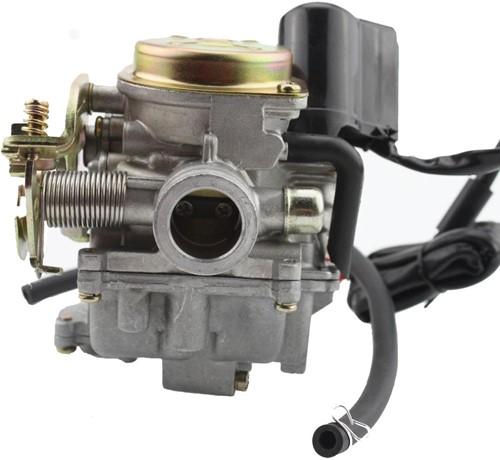 Carburateur 18.5mm China Gy6 4t / Sym 4t / Kymco Agility 4t / Piaggio 4t / Baotian 4t / Btc 4t / Agm 4t / Znen 4t / Fosti Grande Retro / Iva