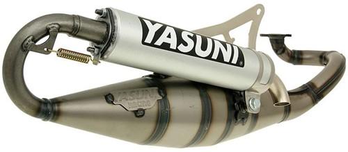 uitlaat yasuni R yamaha aerox / aprillia rally / beta ark / beta ycon / scarabeo / yamaha axis / yamaha why / aprillia SR2000 / yamaha jog / yamaha neos / malaguti F12 / F15 / minarelli horizontaal -