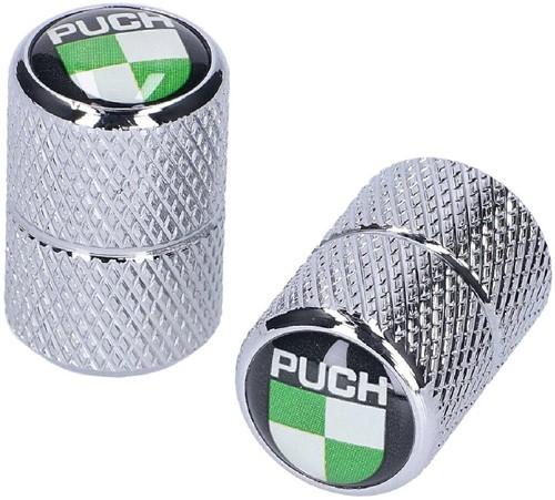 Ventieldop Set Puch Maxi 2.pcs Universeel + Puch Logo