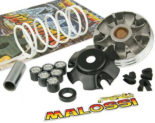 Variokit Malossi Multivar Piaggio 4T / Vespa 4T / Piaggio Euro4 / Vespa Euro4 / Aprilia 4T / Derbi 4T / Italjet 4T / Malaguti 4T (6,1 gram 19x15,5 mm rollen & +30% witte drukveer) 5111597